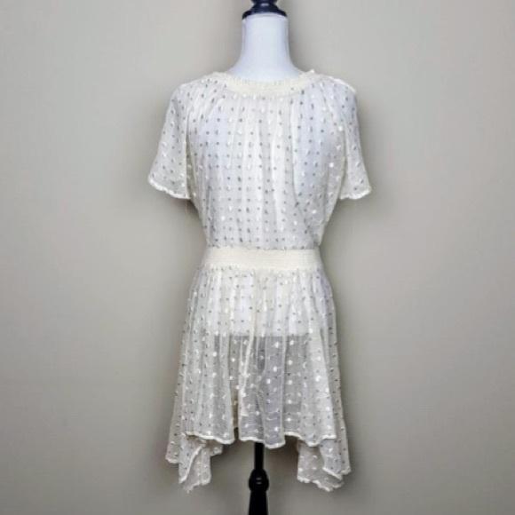 Anthropologie Dresses & Skirts - Anthropologie leifnotes lace sequin dress,Sz 10-16